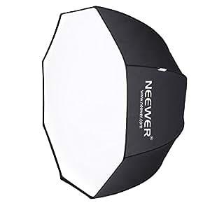 'Neewer 47/120cm octogonal Speedlite, Estudio Flash, flash paraguas caja de luz con bolsa para retrato o fotografía de producto