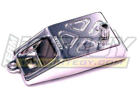 (Integy RC Model Hop-ups T3268SILVER Evolution-5 Receiver Box Cover for Traxxas Slayer (Both))