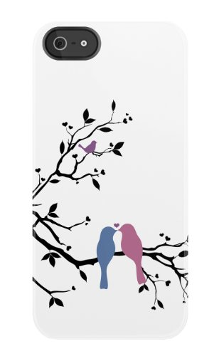Uncommon - C0020-FT - Apple iPhone 5/5S Forever Birds Deflector Hülle
