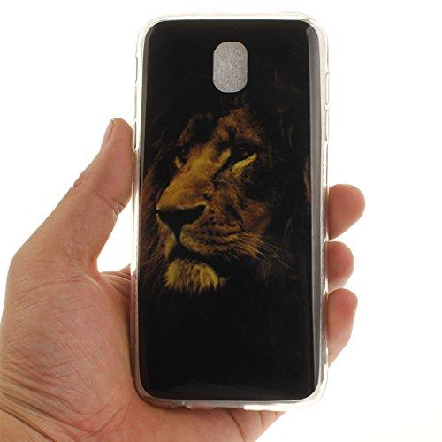 AllDo Funda Silicona para Samsung Galaxy J5 2017 SM-J530F Carcasa Protectora Caso Suave TPU Soft Silicone Case Cover Bumper Funda Ultra Delgado Carcasa Flexible Ligero Caja Anti Rasguños Casco Anti Ch