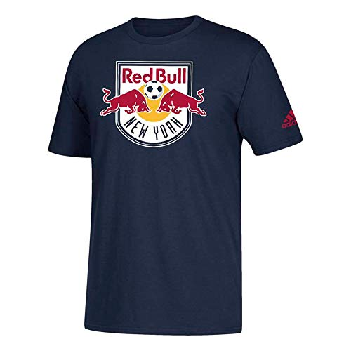 adidas New York Red Bulls Men's Team Primary Logo T-Shirt (X-Large)