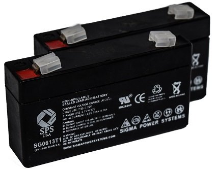 (SPS Brand 6V 1.3Ah Replacement Battery for Quantum Bantam (2 Pack))