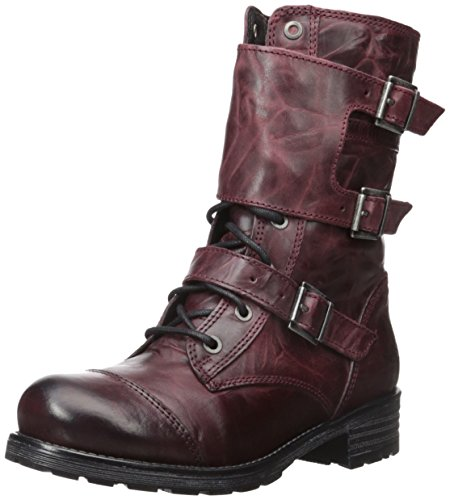 Bos. & Co. Women's Irena Snow Boot, Wine Ocean Wax Leather, 37 EU/6.5-7 M US by Bos. & Co.
