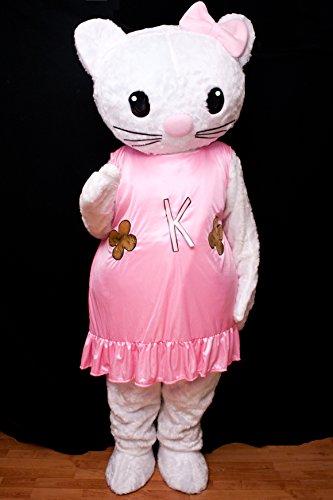 Animal Themed Dance Costumes (Hello Kitty Cartoon Character Costume Mascot Custom Products Kitty Cartoon (Medium: (160-175)))