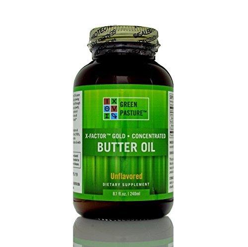 Green Pastures - Butter Oil,X-Factor Gold High Vitamin Butter Oil,X(K-2 MK4)