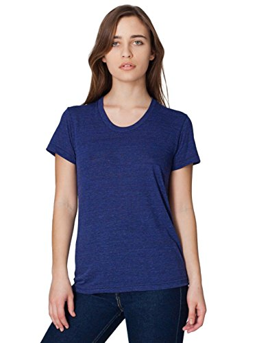 american-apparel-womens-tri-blend-short-sleeve-womenss-track-t-shirt-size-m