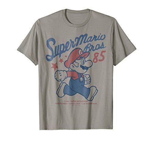 - Nintendo Super Mario Brothers '85 Vintage Stars T-Shirt