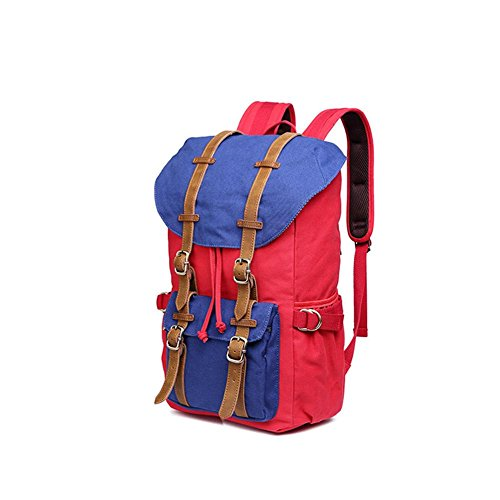 backpack TT Außen Umhängetasche Neutral-Beutel-Rucksack faltbare Reisetasche red