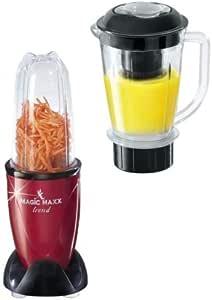 TV Das Original Magic Maxx Trend, Mini – robot de cocina/licuadora, color rojo: Amazon.es: Hogar