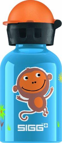 (Sigg Jungle Monkey Water Bottle, Blue, 0.3-Liter)