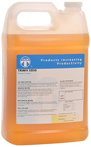TRIM Cutting & Grinding Fluids E850/1 Premium Emulsion, 1 gal Jug