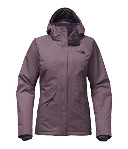 The North Face Women's Inlux Insulated Jacket - Black Plum Heather - L (Past Season) by The North Face