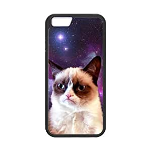 Case Cover for Personalized Case for Personalized iPhone 6 (Laser Technology) 4.7 inch Screen iPhone Strong Protect Case - Grumpy Cat case-01