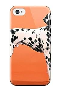 Hot Hot Case Cover Protector For Iphone 4/4s- Dalmatian WANGJING JINDA