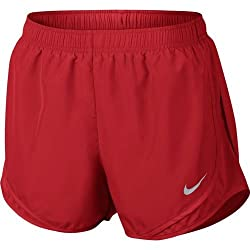 Nike Women's Nike Dry Tempo Running Short Red - X-large