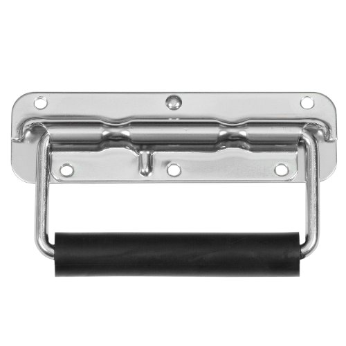 Reliable Hardware Company RH-0532F-A Spring Loaded Surface Mount Handle with Rubber Grip, Zinc