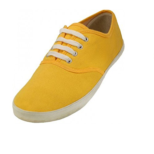 yellow shoes - 1