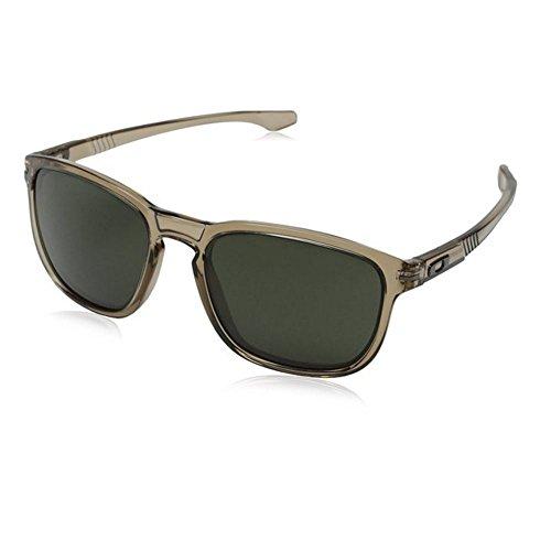 Oakley Mens Enduro Rectangular Sunglasses Sepia 55 mm