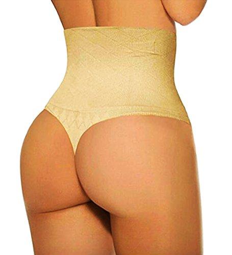 Line Girdle (Jenbou Waist Cincher Girdle Tummy Control Panties Trainer Sexy Thong Body Shaper Slimming Shapewear for Women)