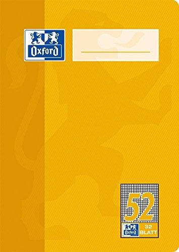 Oxford–Quaderno di scuola, carta ottica 90g/m² Tipo 52 - a quadretti A6, 32 Blatt Confezione da 10 Oxford-Quaderno di scuola Hamelin Brands 100050397