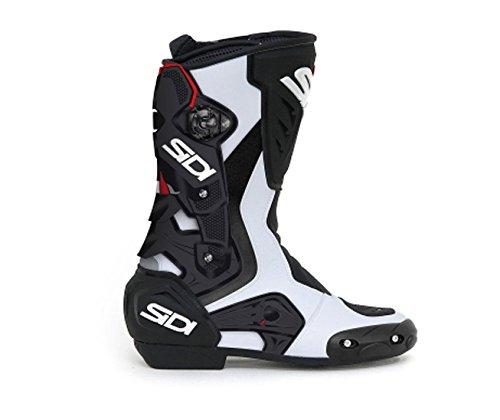 White Motorbike Boots - 4