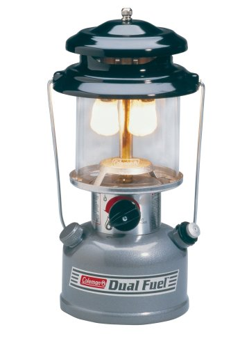 Coleman Premium Dual-Fuel Lantern, Outdoor Stuffs