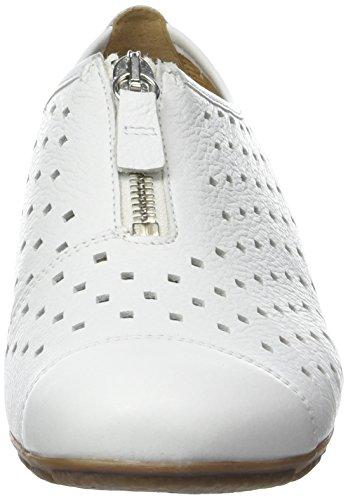 Gabor Shoes Fashion, Bailarinas para Mujer Blanco (weiss 21)