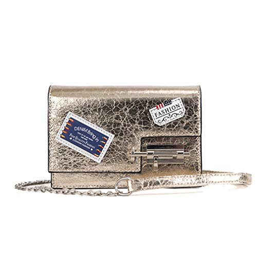 Paquete De Mujer Bolsa Hombro Personalidad W19h13d6 Crack Black Casual Badges Cm Burst Bag La Pequeño Messenger Pink Moda wRqFXxOt8