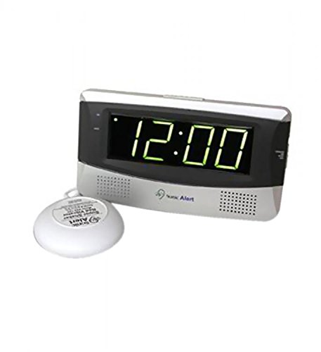 Sonic Alert SB300 Sonic Boom Loud Vibrating Alarm Clock with Large Display by Sonic Alert