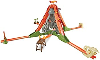 Hot Wheels Track Builder Volcano Escape Trackset