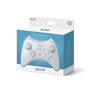 Wii U Pro Controller - White from Nintendo