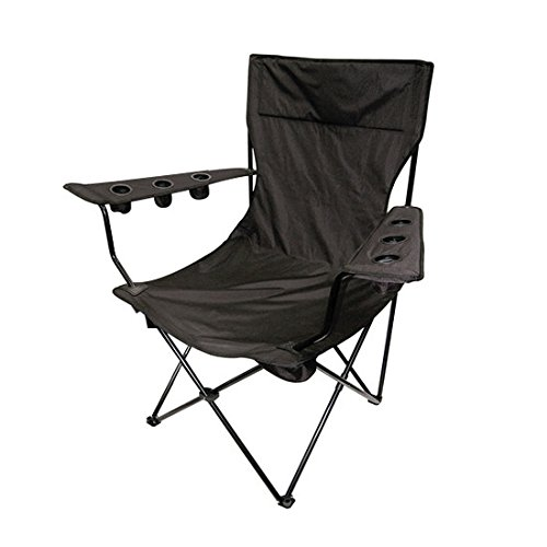 Speedway Motors Kingpin Giant Folding Chair, Red
