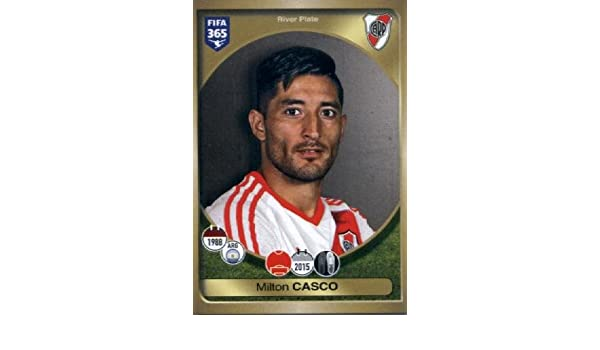 Amazon.com: 2016-17 Panini FIFA 365 #545 Milton Casco River Plate Soccer Sticker: Collectibles & Fine Art