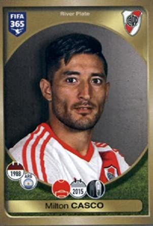 2016-17 Panini FIFA 365 #545 Milton Casco River Plate Soccer Sticker