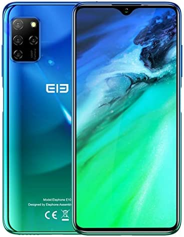 ELEPHONE E10/E2020 Android 10.0 Smartphone Octa Core 4+64GB 4G 6.5 ...