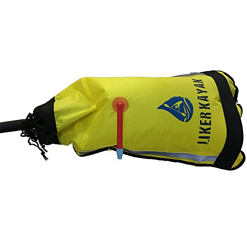 Liker floating bag water wings made with PVC for kayak paddle bag and save life