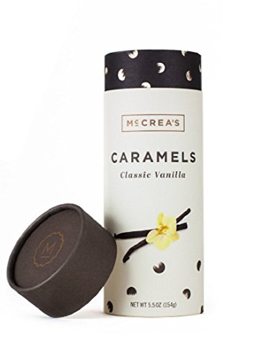 McCrea's Candies Classic Vanilla Caramels Made in Boston made in Massachusetts