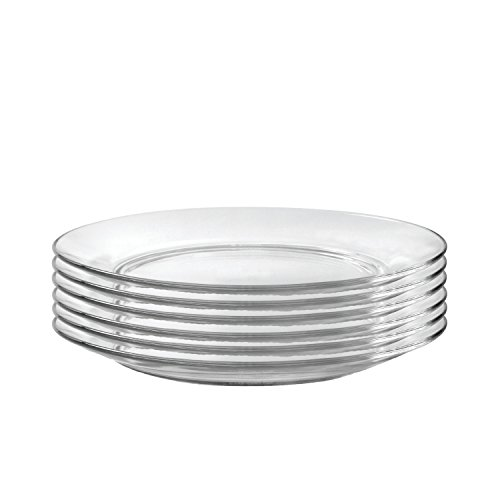 Duralex Made in France 3009AF06/6 Lys Dinnerware 11 Inch Dinner -