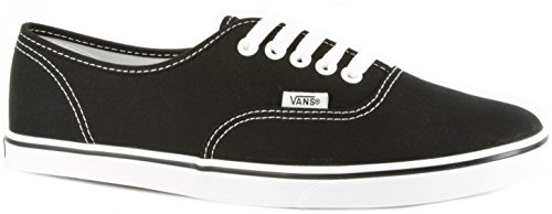 Vans Unisex Authentic Lo Pro Skate Shoe (40 M EU / 9 B(M) US Women / 7.5 D(M) US Men, Black/True White)
