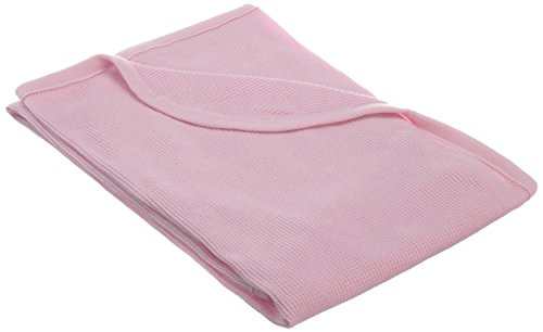 TL Care 100% Cotton Swaddle/Thermal Blanket, Pink