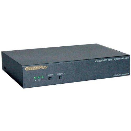 CHANNEL PLUS 5435 Triple Channel Rf Modulator by ChannelPlus