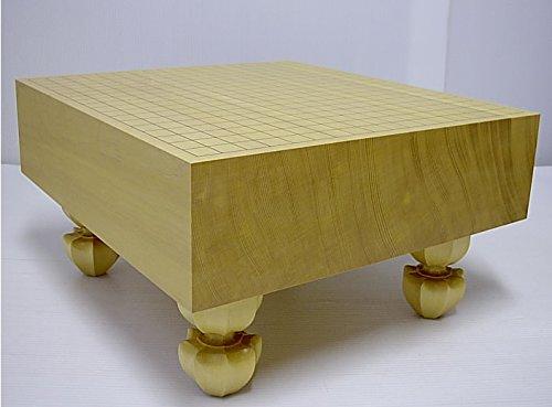 囲碁盤 新かや脚付き碁盤4寸柾目新榧【松竹】梅商碁盤店