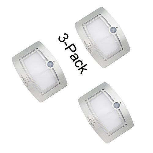 Leadleds Battery Operated Motion Sensor LED Wall Light wi...