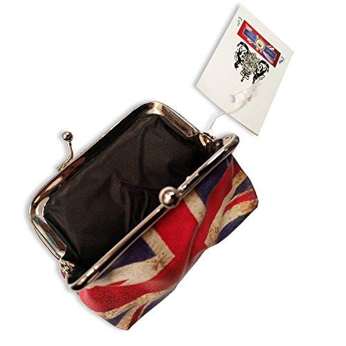 London England Souvenir bandiera Union Jack, portamonete, souvenir dell'Inghilterra, Collezionabile Souvenir da collezione, Regno Unito, Un regalo unico e alla moda