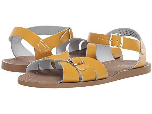 Salt Water Sandals by Hoy Shoes Girl's Classic (Big Kid/Adult) Mustard 6 M US Big Kid