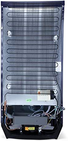 Godrej 200 L 4 Star Inverter Direct-Cool Single Door Refrigerator (RD EDGE 215D 43 TDI GL BL, Glass Blue, Base Stand with Drawer)