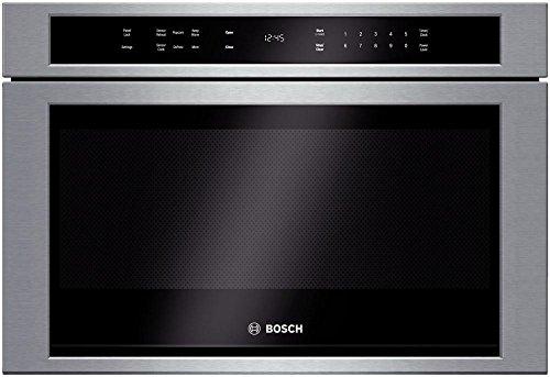 Bosch HMD8451UC 800 24' Stainless Steel Microwave Drawer