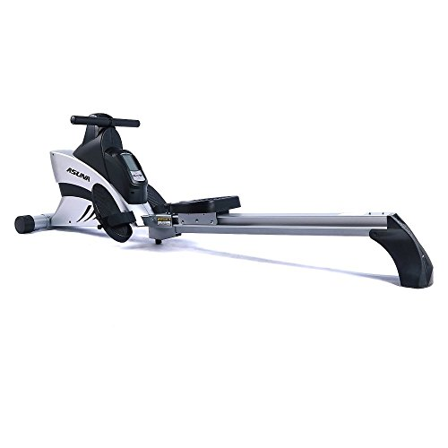 Studio Rowing Machine - ASUNA 4500 Commercial Folding Rowing Machine Rower w/ Heart Rate Monitor