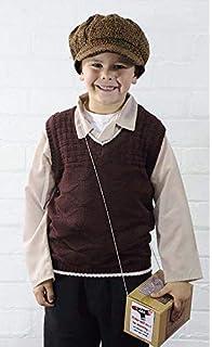 Boys Kids 1940s Book Week Childs Fancy Dress Costume 4-14