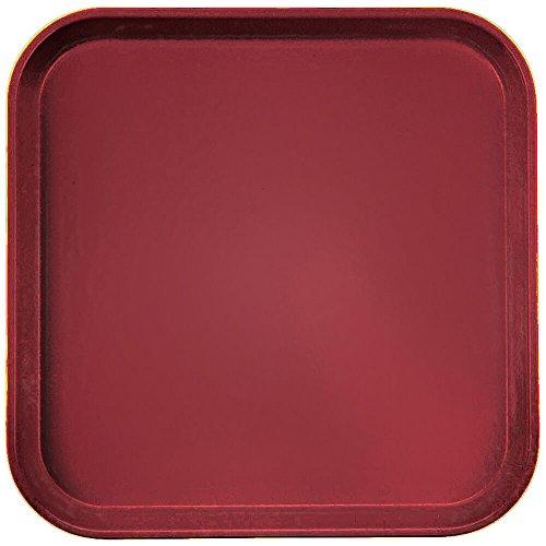 Camtray, Metric, 33 Cm X 33 Cm (13'' X 13''), High-Impact Fiberglass, Cherry Red, Nsf (12 ()